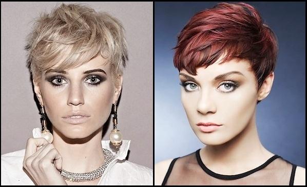 Modele fantastike për flokë të shkurtra A