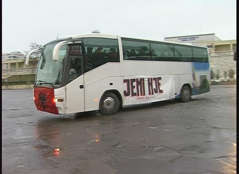 autobuset tirane