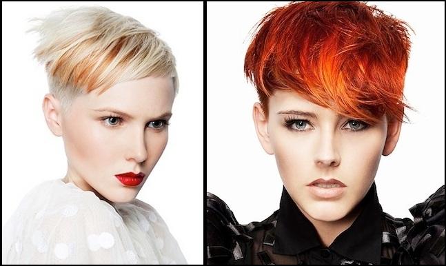 Modele fantastike për flokë të shkurtra B
