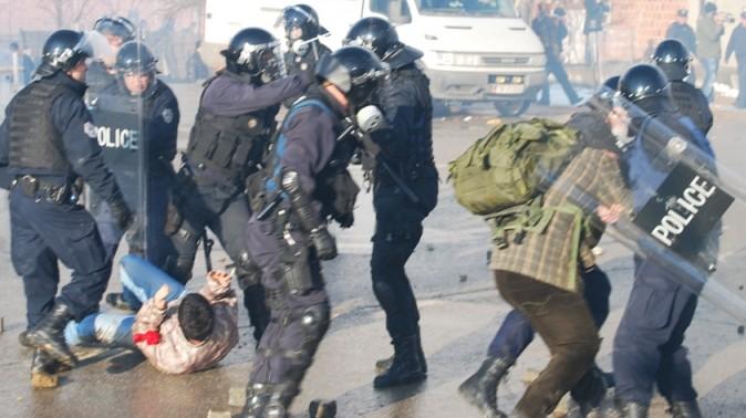 dhuna e policise