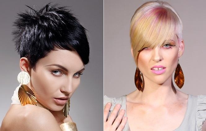 Modele fantastike për flokë të shkurtra 11