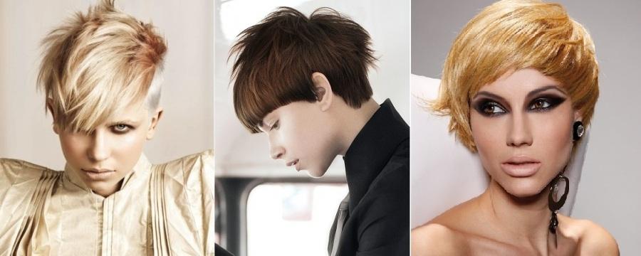 Modele fantastike për flokë të shkurtra 5
