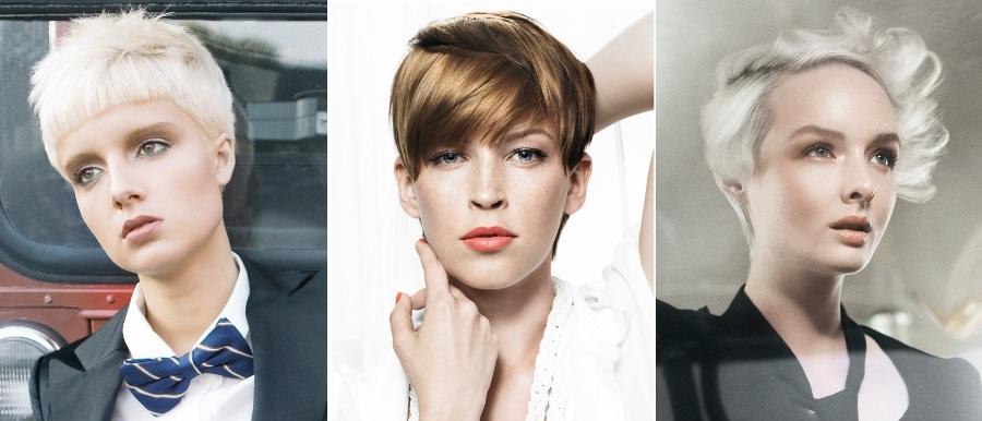 Modele fantastike për flokë të shkurtra 6