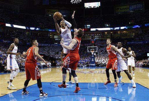 Russell Westbrook, Omer Asik